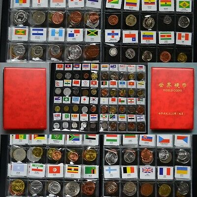 Coin collection 120 countries and regions. Lots World coins. free shipping.