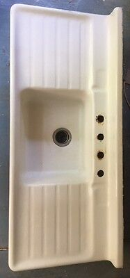Cast Iron Porcelain Covered Sink