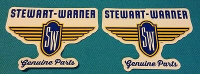 STEWART WARNER racing decals stickers nhra drags diesel nhrda nostalgia hotrods