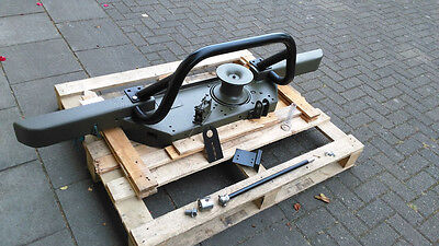 Landrover Defender Fairey / Superwinch Capstan Winch and bumper Ex Mod Military