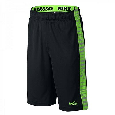 Brand New Nike Boys' Lacrosse Printed Fly Lacrosse Shorts Sizes S, M, L, and XL
