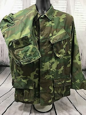 VTG VIETNAM USMC US ARMY TROPICAL COMBAT COAT PANTS DSA 100 CAMO SET Old Uniform
