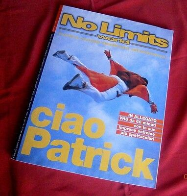 NO LIMITS WORLD del 1998 - LA TRAGICA MORTE DI PATRIK GAYARDON - COME NUOVO