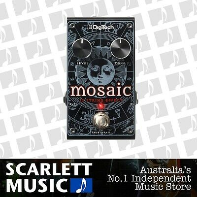 Digitech Mosaic Polyphonic 12 String Effects Pedal *BRAND NEW*