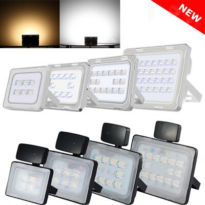 PIR LED Floodlight 10/20/30/50/100/150/200/250W Outdoor Security Light Warm Cool