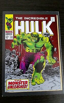 Marvel Classic Postcard - The Incredible Hulk #105