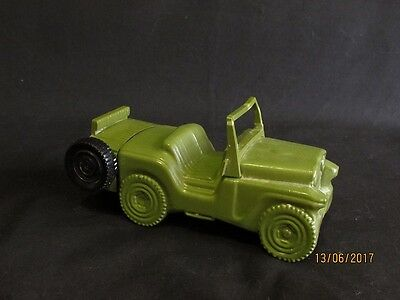 Vintage Avon Army Jeep Aftershave Bottle