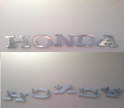 Honda s800 coupe tail gate letters