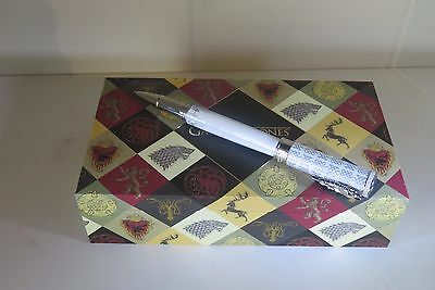 Montegrappa Game Of Thrones Stark Rollerball Pen,special Edition,collectible