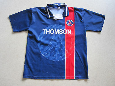 Maillot foot vintage PSG Paris Saint Germain N°9 PAULETA taille XL
