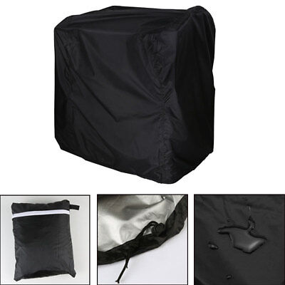 AU BBQ Cover Outdoor Patio Barbecue Grill Protector Waterproof Rain Snow 2 Size