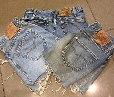 Vintage Levi's Cut Off Shorts Size 12