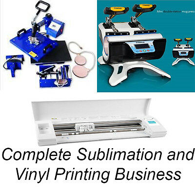 Complete Sublimation & Vinyl printing business for sale
