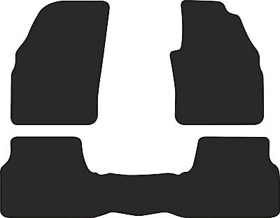 Ford Focus Car Floor Mats Front And Rear Set 2011 To 2017 Lw Lz