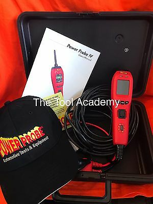 Powerprobe 4 Power Probe Iv Diagnostic Circuit Tester Tool Free Baseball Cap