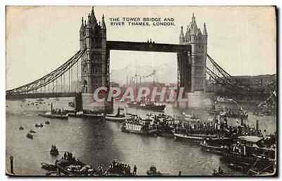 Angleterre - England - London - Londres - The Tower Bridge and River Thames - CP