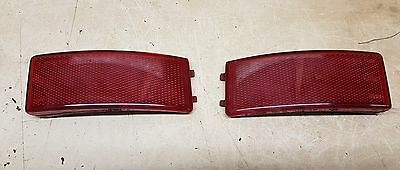 Ford Focus C-Max 2003-2011 Pair Of Rear Bumper Reflectors