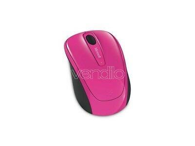 Ms Wireless Mobile Mouse 3500 Mag. Pink E Tastiere