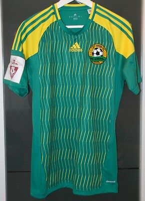 Fc Kuban (Russia) Match Worn Shirt Spartak Moscow Paraguay Benfica Portugal