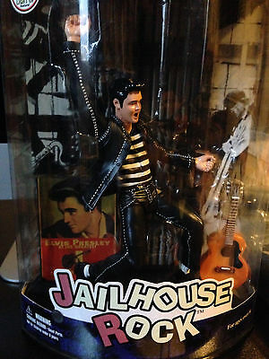 Illuminated Jailhouse Rock Elvis Presley Toys Figure Rare