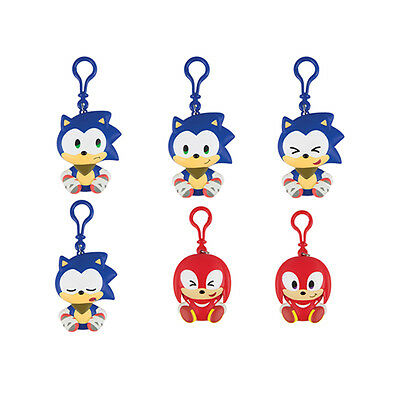 Genuine Sonic Boom Vinyl Keychain Assortment (T22534A) Kids Tomy