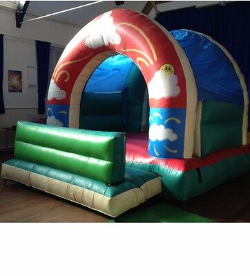 12 x 12ft Ex Commercial Bouncy Castle with Blower and Pegs