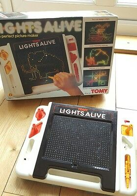 Tomy Lights Alive With Box Vintage / Retro Toys Working