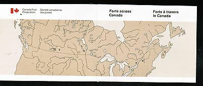 CANADA  1985 34c FORTS booklet cat#1059a  MNH  LOT 434