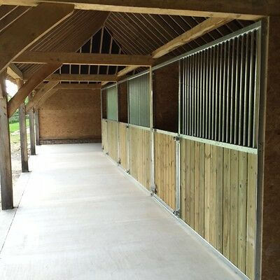 Internal Stables 12' x 12', American Barn Stable, Horses,