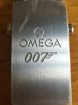 NEW OMEGA GENUINE 20mm MICRO ADJUSTABLE SPECTRE 007 BOND CLASP SEAMASTER 300M