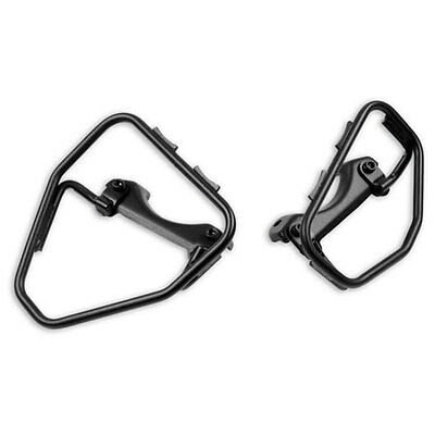 Ducati Scrambler Black Steel Soft Side Bag Brackets  # 96780741A
