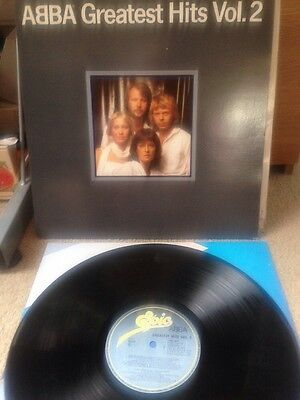 Abba - Greatest Hits Vol.2 - Lp - Truly Excellent Condition With Colour Inner