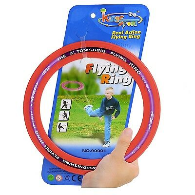 Sporting Flying Disk Disc Big Frisbee 9.8'' Outdoor Toy Classic Ring Shape Gift
