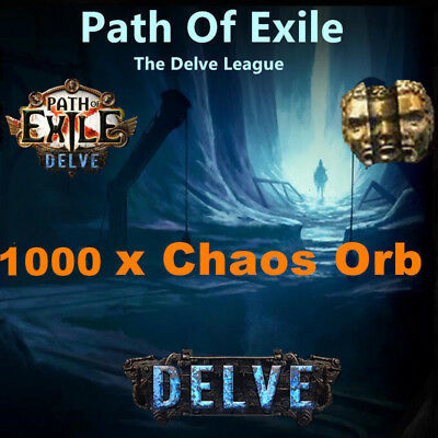 1000 x Chaos Orb - Path of Exile / PoE 3.1 Currency für Abyss League Softcore SC