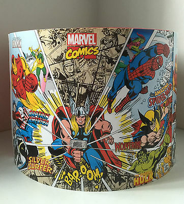 Marvel Super Hero 10 inch ceiling lampshade