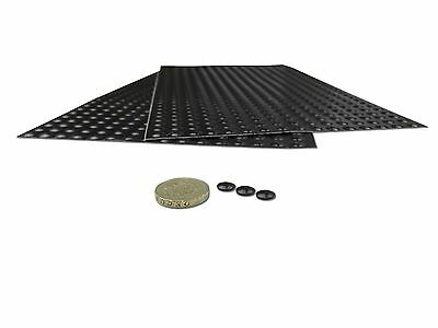 Black sticky Bumpers - perfect for anti-slip,anti-vibration and sound dampening