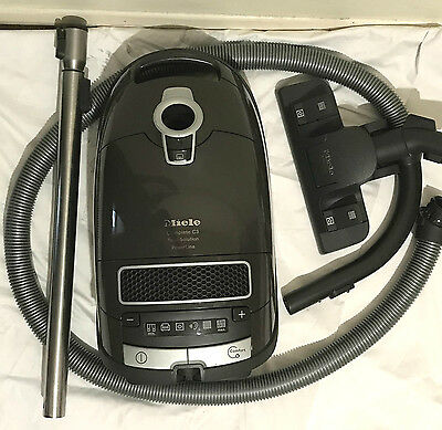 Miele Complete C3 Total Solution PowerLine SGFE0 Bagged Cylinder Vacuum Cleaner