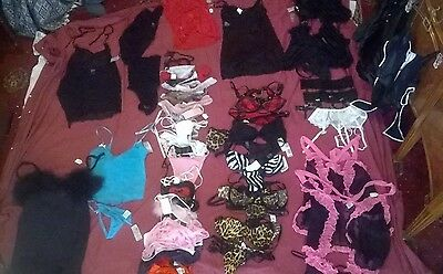 big job lot womens lingerie, g-string, bras, neglige etc, new, mixed sizes