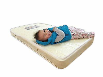 Crib Mattress For Baby Crib Cot White - Orthopedic - 100% Cotton - Waterproof...