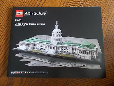 Lego Architecture 21030 United States Capitol Building Instruction Manual Only