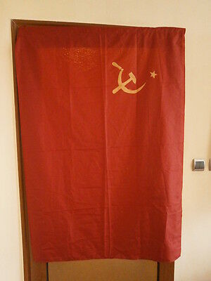 big red flag USSR  1970