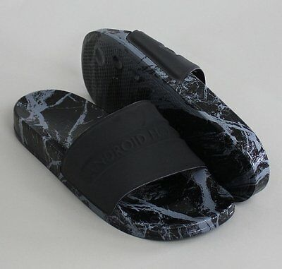 Mens Android Homme Slide Slippers Summer Holiday - Black - NEW 2017 COLLECTION