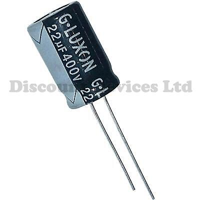 22uF 400V  Electrolytic Radial Capacitor 105C