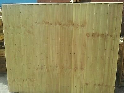 feather edge fencing- fence panels-wooden fencing