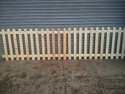 picket fence,Wooden Picket, Fence Panels- 6' x 3', bargains
