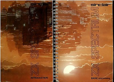 "Sinclair Zx Spectrum ""Basic Programming"" Book Manual & ""Introduction"" Book"