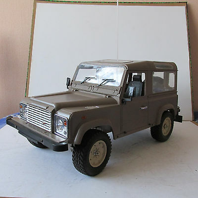Homemade Land Rover Defender 90 4Wd Vintage 1/10 Scale Model Rc