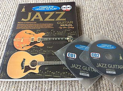 JAZZ GUITAR (complete Learn To Play) Instruction Book-with 2cd's