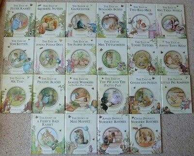 The Complete Peter Rabbit Library - 22 Hard Back Book Set - Beatrix Potter