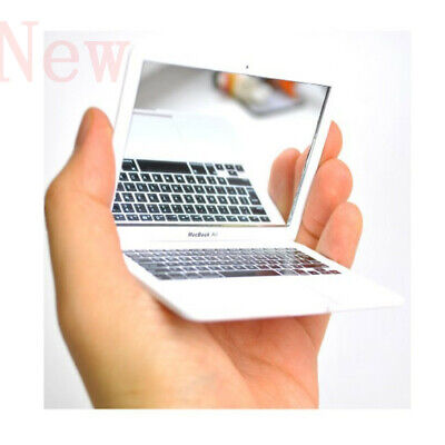 Miniature Silver Laptop Computer Doll Accessories Prop Toy Children Toys Cute